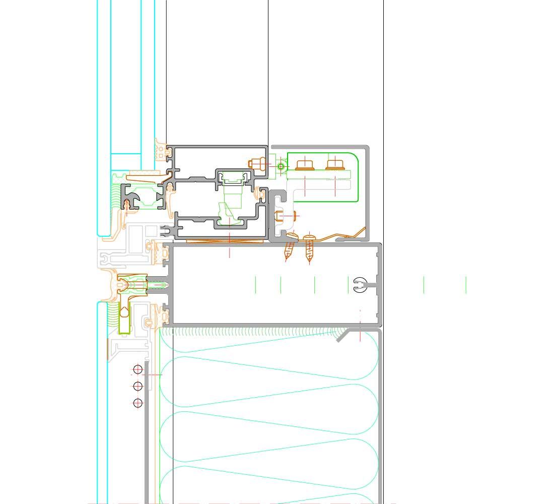schuco fw 50 sg. Black Bedroom Furniture Sets. Home Design Ideas